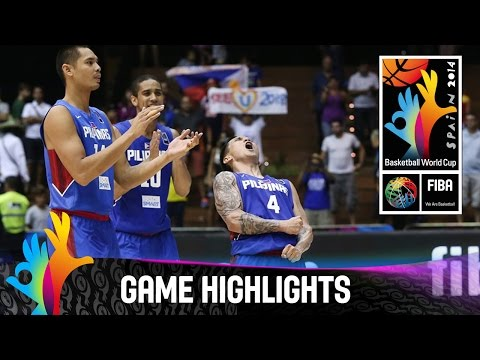 watch Senegal v Philippines - Game Highlights - Group B - 2014 FIBA Basketball World Cup