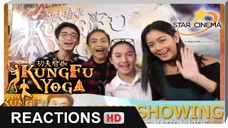 Reactions | Yllona Garcia, Alyanna Angeles, Franco Rodriguez, Zaijan Jaranilla | 'Kung Fu Yoga'