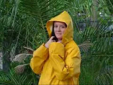 Yellow rainwear