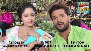 किसिंग सीन्स पर क्या बोले खेसारी ? | Khesari Lal Yadav | Bindaas Bhojpuriya