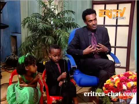 Eritrean Comedy Interview with the childs Ruftael and Selihoma
