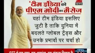 PM Narendra Modi presents new India vision at NITI Aayog meet