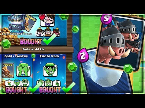 Xxx Mp4 BUYING THE UPDATE Clash Royale Royal Hog Snowball EMOTES 3gp Sex