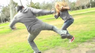 Stunt Fight Practice