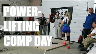 Powerlifting Competition Day of - Small girl vs Heavy Weights