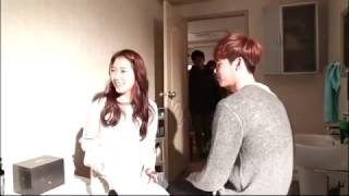 Lee Jong Suk 💙 Park Shin Hye 💙 Behind The Scene 💙 Love and Love💙The Best Couple FOREVER?💙