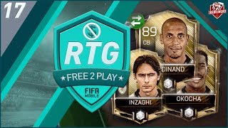 FIFA MOBILE 18 F2P Road To Glory Ep 17 |  I got 3 new Icons & got my OVR to 98!