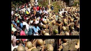 കുരിശുമാറ്റം ലാത്തിച്ചാര്ജ്ജില് അവസാനിച്ചപ്പോള്    Bonacaud kurisumala police lathi charge