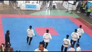 pakistan Army taekwondo team creative pomsae 2016