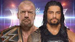 Roman Reigns vs Triple H Wrestlemania 32 Promo HD
