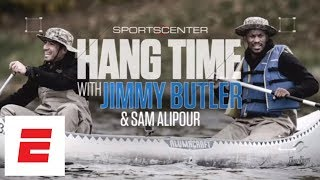 Jimmy Butler falls into a lake while canoeing in Minnesota | SportsCenter | ESPN