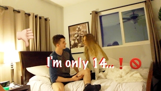 My Girlfriend is only 14!!! PRANK