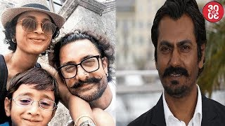 Aamir Khan Takes A European Vacation With Family | Nawazuddin On Nepotism Debate