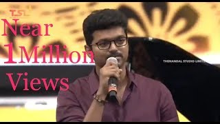 Vijay Anna's Mersal Speech in Mersal Audio Launch - Full length video