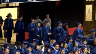 Spring 2016 College of Engineering Commencement Ceremony (1 of 2)