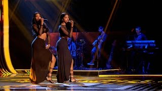 DTwinz perform 'Shy Guy' - The Voice UK 2015: Blind Auditions 4 - BBC One