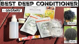 Best All Natural Deep Conditioner | FT. NaturAll Club + GIVEAWAY (Closed)