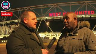 'Walcott would be great for West Ham' Robbie from Arsenal Fan TV