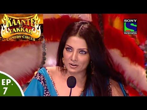 Comedy Circus Kaante Ki Takkar Episode 7 Celina Jaitely on the Show