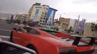 Lamborghini in Tehran Iran اگه ماشین بازی این کلیپ هارو از دست نده که ضرر میکنی