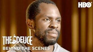 Meet Gbenga Akinnagbe aka Larry Brown   The Deuce   HBO