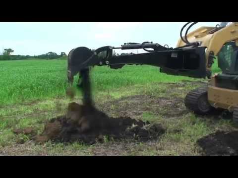 Skid Steer Backhoe Attachment Triple S Attachments