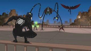 Spectacular Spider-Man (2008) Black Suit vs Sinister Six part 1