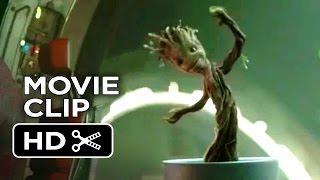 Guardians of the Galaxy Movie CLIP - Dancing Baby Groot (2014) - Vin Diesel Marvel Movie HD