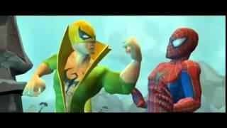 Spider-Man Friend or Foe Cutscenes