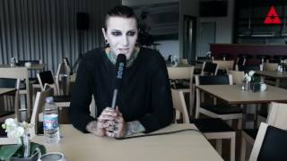 Rock im Park 2017: Interview mit Chris Motionless /  MOTIONLESS IN WHITE