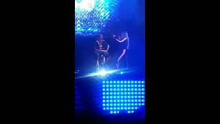 Miss mulatto gives mani a lap dance