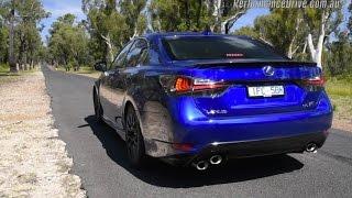 2016 Lexus GS F 0-100km/h & engine sound