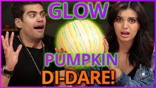 DIY Glow in the Dark Pumpkins?! Di-Dare