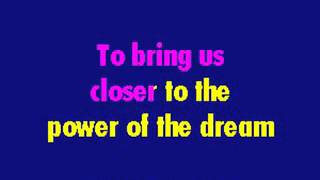 Celine Dion   The Power Of The Dream Karaoke