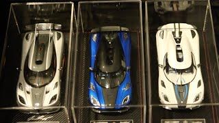 1:18 Scale Model Car Collection - 1/18 Diecast Collection Update