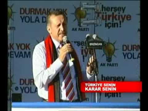 AK Parti 2007 Erzincan Mitingi