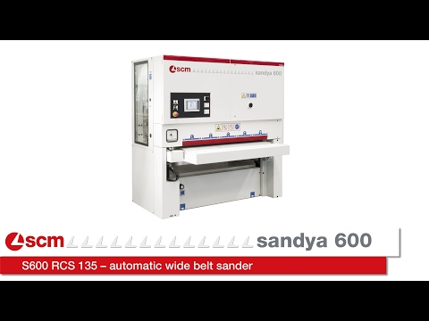 Xxx Mp4 SCM Sandya 600 S600 RCS 135 – Automatic Wide Belt Sander 3gp Sex