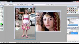 Adobe Photoshop7.0 Tutorials Video in Hindi Part 7 of 24 Use of Healing Brush, Patch & Brush Tool