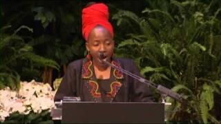 Kah Walla receives Global Leadership Award from Ngozi Okonjo - Iweala