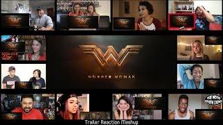 Wonder Woman - Official Trailer (Reaction Mashup)