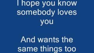 My Wish Lyrics | Rascal Flatts