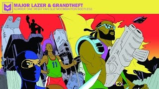 Major Lazer & Grandtheft - Number One (Rishi Van Guz Moombahton Bootleg)