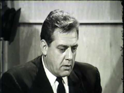 Raymond Burr interview 1963