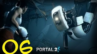 Portal 2 Campaign Part 06 Swapping Turrets