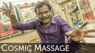 The World's Second Greatest Head Massage Video with Baba the Cosmic Barber !
