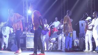 THE TRIPLETS GHETTO KIDS DANCING DAGALA AT EDDY KENZO CONCERT 2016