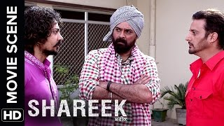 Two rivals fight over Mahie Gill | Shareek | Movie Scene