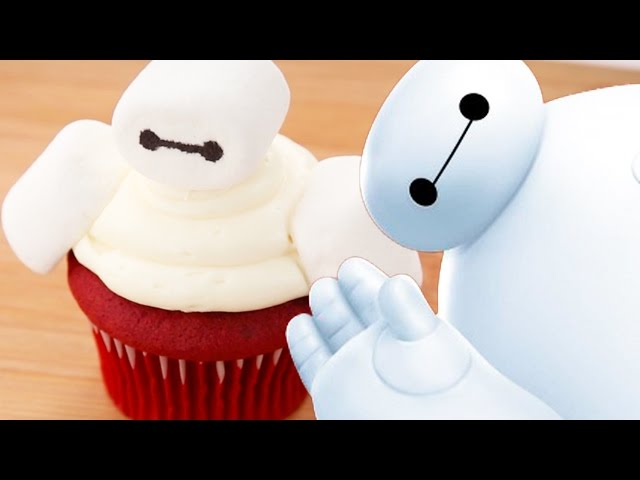Baymax: Big Hero 6 Cupcake | Dishes by Disney | Disney Family