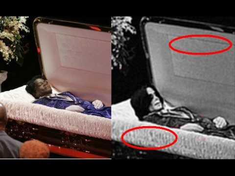 Michael Jackson coffin photo is FAKE conspiracy