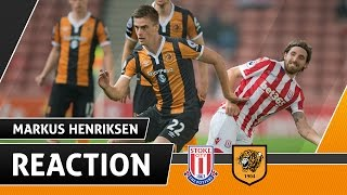 Stoke City v The Tigers | Reaction With Markus Henriksen | 21.09.16